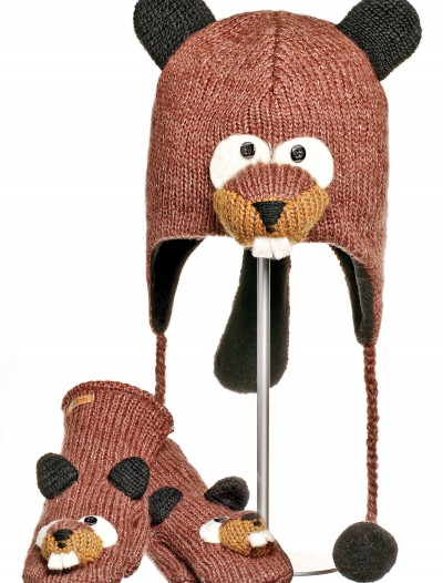 Adult Barkley the Beaver Hat