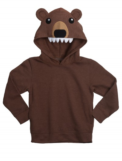 Bear Face Animal Hoodie