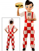 Big Boy Deluxe Costume w/Plastic Mask