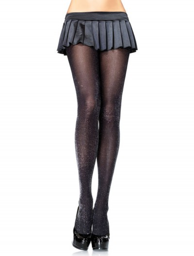 Black / Silver Sparkle Tights