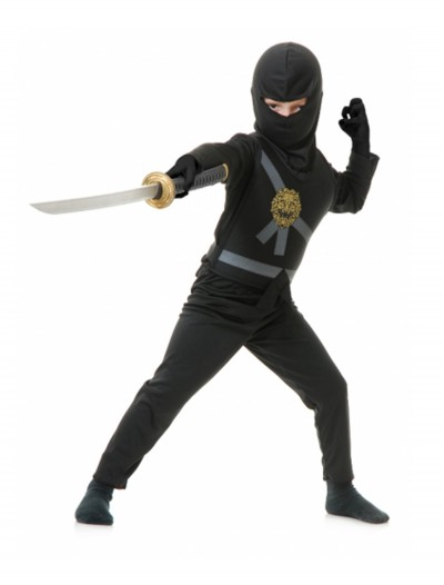 Black Toddler Ninja Costume
