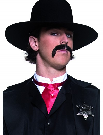 Black Western Sheriff Hat
