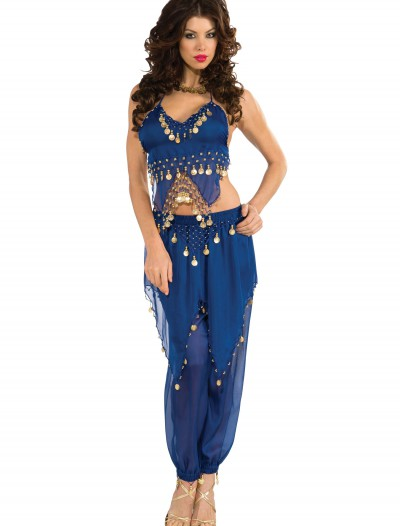 Blue Belly Dancer Costume