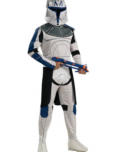 Blue Clone Trooper Rex Adult Costume
