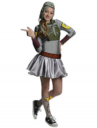 Boba Fett Tween Dress Costume