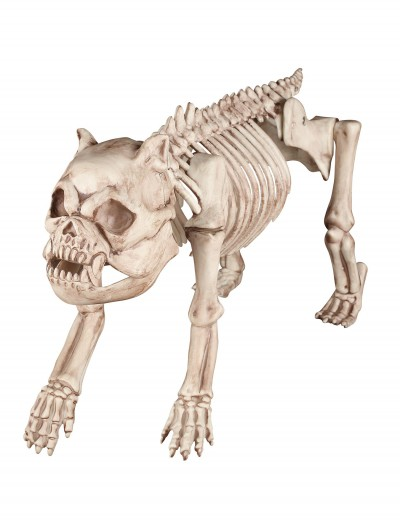 Bones the Hungry Hound Skeleton Dog