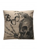 Boo Skeleton Pillow
