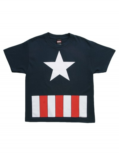 Boys Captain America The Great Star TShirt
