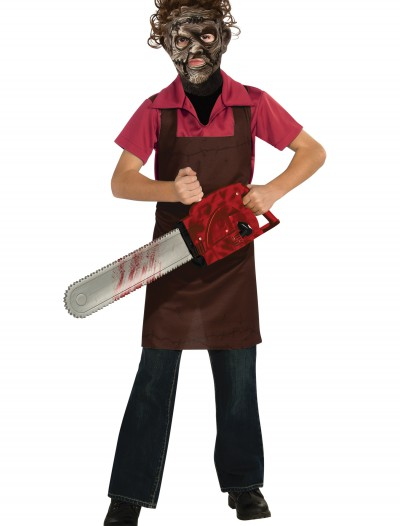 Boys Leatherface Costume