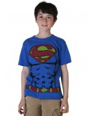 Boys Muscle Superman Costume T-Shirt
