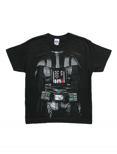 Boys Star Wars Darth Vader Costume T-Shirt