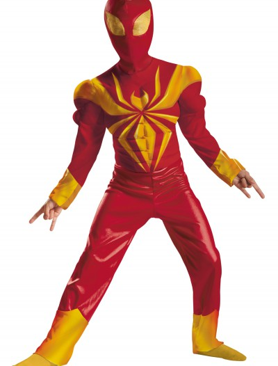 Boys Ultimate Iron Spider-Man Classic Muscle Costume