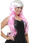 Bubble Gum White/Pink Wig