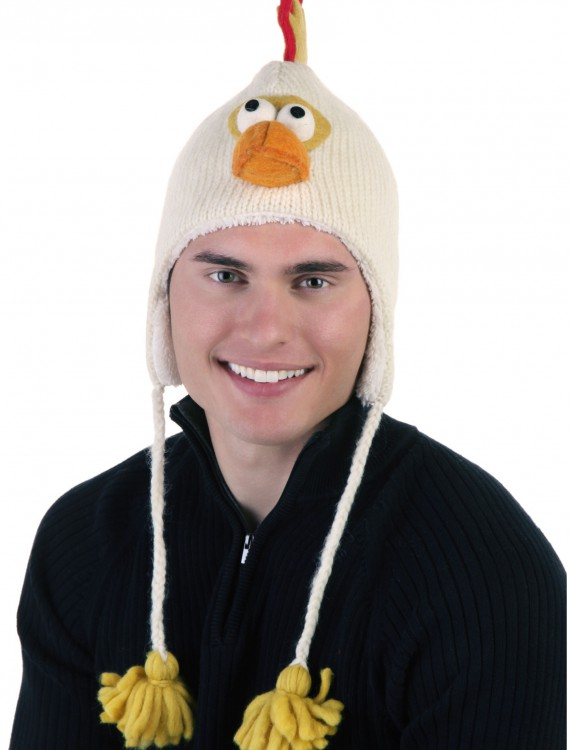 Adult Caleb the Chicken Hat