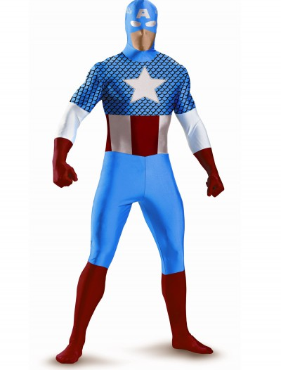 Captain America Bodysuit Costume