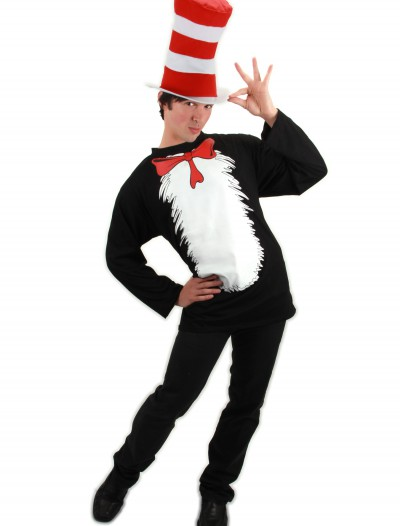 Cat in the Hat T-Shirt Costume