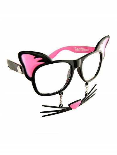 Cat 'Stache Glasses
