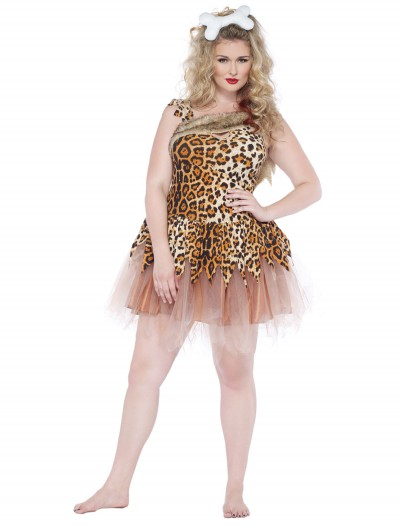Cave Girl Cutie Plus Size Costume