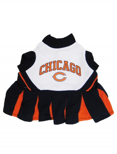 Chicago Bears Dog Cheerleader Outfit