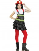 Chief Cutie Firefighter Child Costume