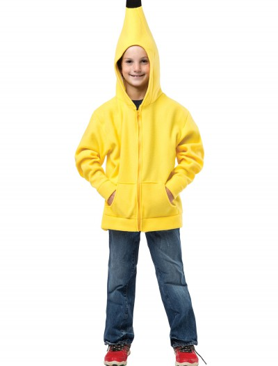 Child Banana Hooded Sweatshirt