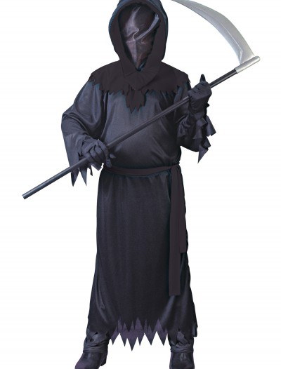 Child Black Faceless Ghost Costume