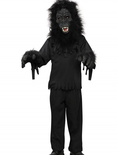 Child Black Gorilla Costume