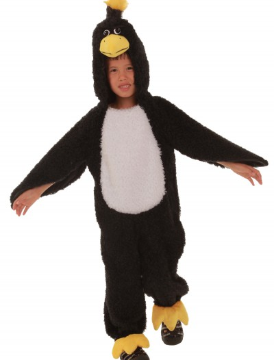 Child Black Grumpy Bird Costume