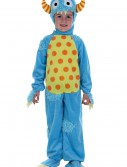 Child Blue Mini Monster Costume