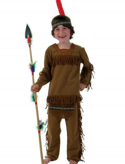 Child Boy Indian Costume