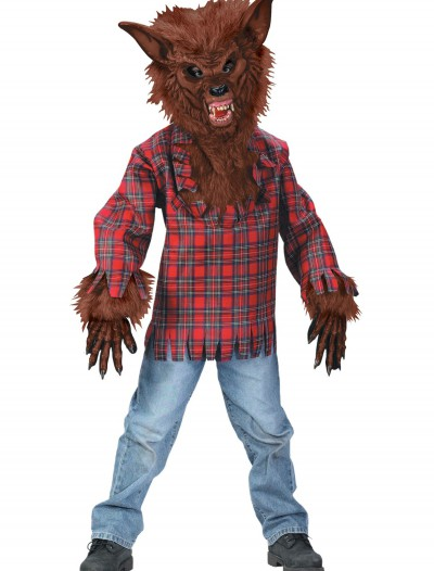 Child Brown Werewolf Costume
