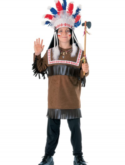 Child Cherokee Warrior Costume