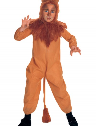 Child Cowardly Lion Costume