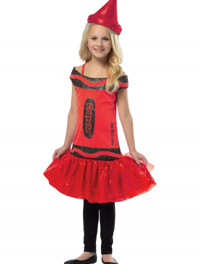 Child Crayola Glitz Ruby Dress