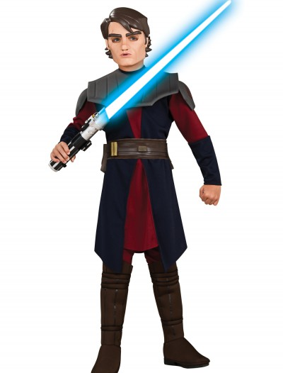 Child Deluxe Anakin Skywalker Clone Wars Costume