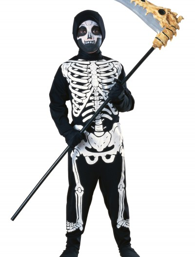 Child Graveyard Skeleton Costume