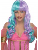Child Green and Purple Candy Fairy Wig