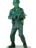 Child Green Army Man Costume
