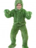 Child Green Furry Jumpsuit
