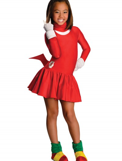 Child Knuckles Girls Costume