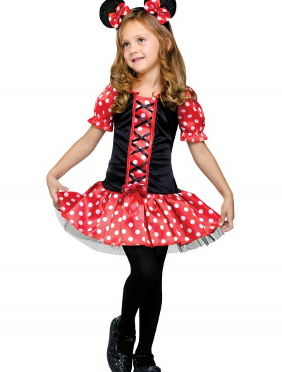 Child Little Miss Mouse Costume