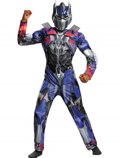 Child Optimus Prime Classic Muscle Movie Costume