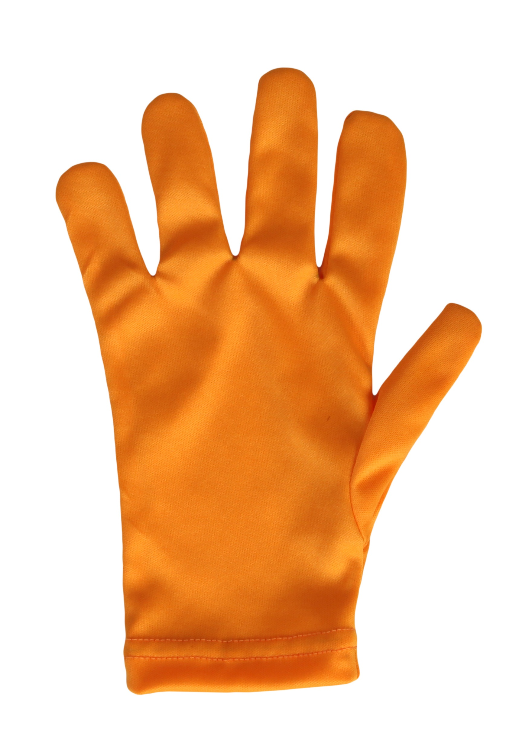 Child Orange Gloves