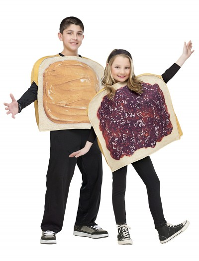 Child Peanut Butter and Jelly Costume