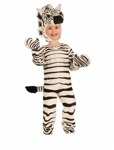 Child Plush Zebra Costume