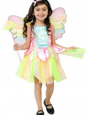 Child Rainbow Princess Fairy Costume