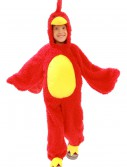 Child Red Grumpy Bird Costume