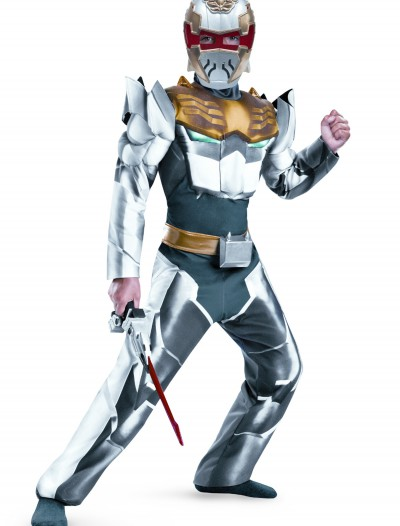 Child Robo Knight Megaforce Classic Muscle Costume