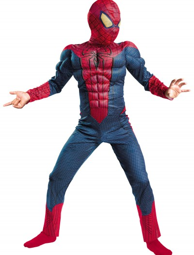 Child Spider-Man Movie Muscle Costume