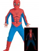 Fiber Optic Child Spiderman Costume